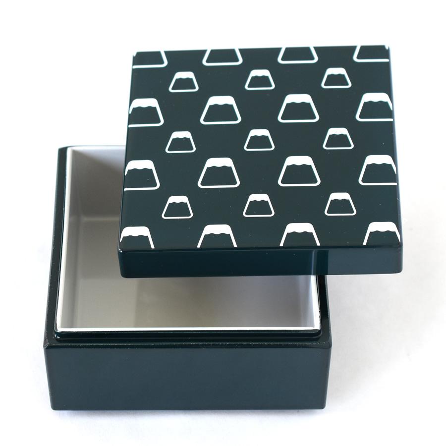 うるしこはこ 漆塗りの小箱 富士山