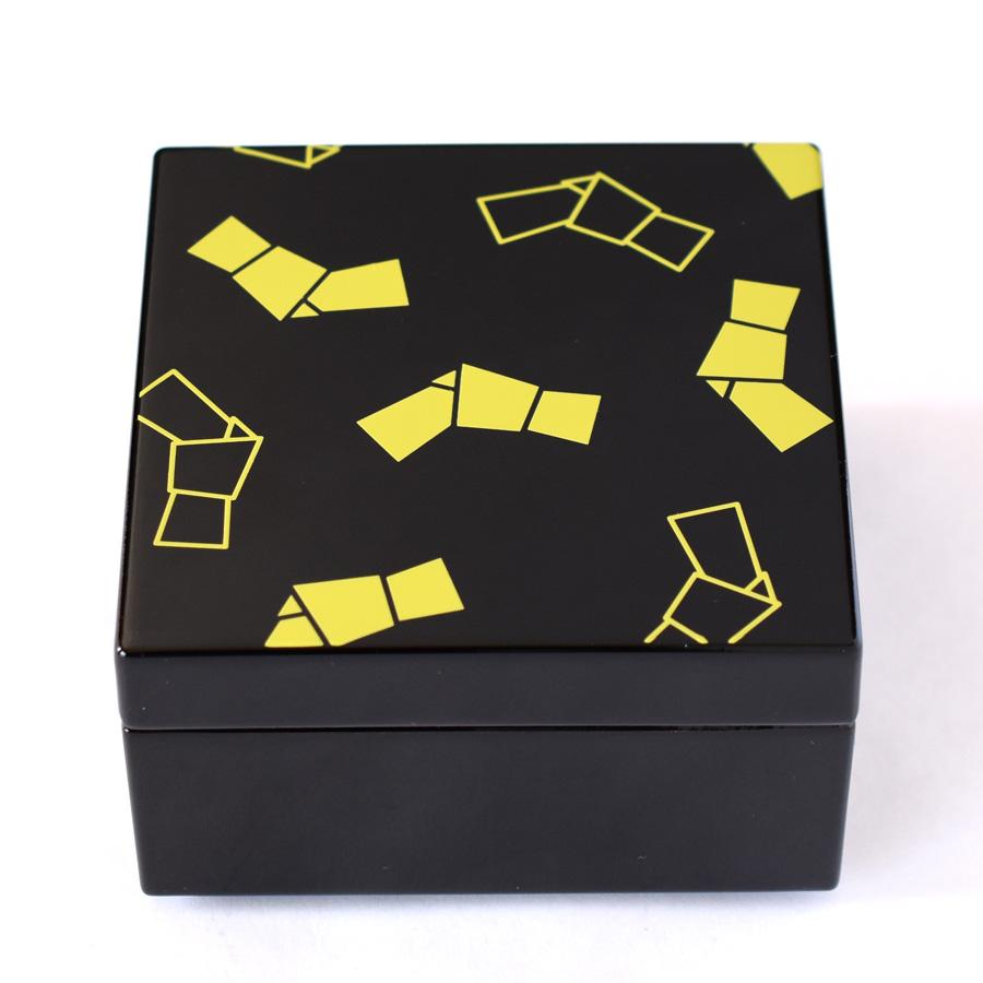 うるしこはこ 漆塗りの小箱 結び
